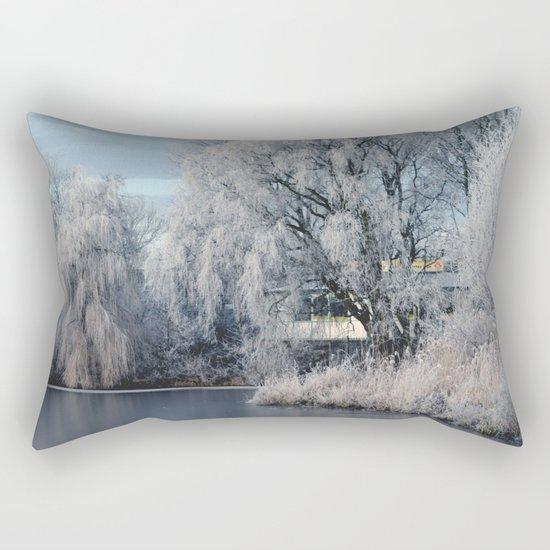 Winter Wonderland Netherlands #1 Rectangular Pillow