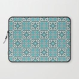 Moroccan Tile Geometric Mandala Laptop Sleeve