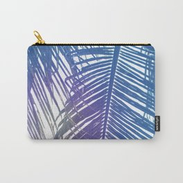 Coco Palm Leaf Zen Poster Carry-All Pouch