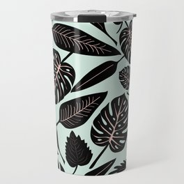 Blacked Leaves Travel Mug