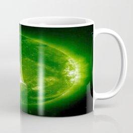 green sun Coffee Mug