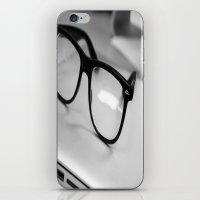 geek iPhone & iPod Skins featuring Geek by Zack Skeeters
