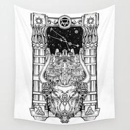 Minotaur's Labyrinth Wall Tapestry