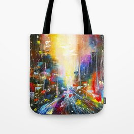 Road to light Tote Bag
