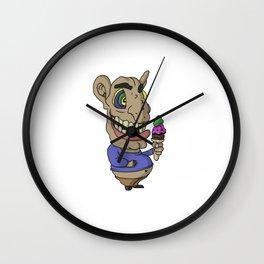 Ice-cream Goblin Wall Clock
