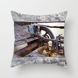 Workhorse Throw Pillow
