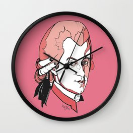 Mozart Composer Mozart Music Composer Vienna Symphony Conductor Italian German English W.A.Mozart Ar Wall Clock