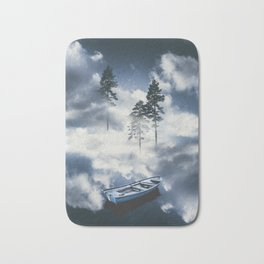 Forest sailing Bath Mat