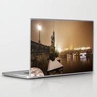 prague Laptop & iPad Skins featuring Prague 6 by Veronika