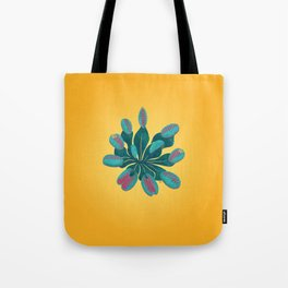 Venus Fly Trap on Gold Field Tote Bag