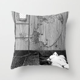asc 543 - La lupara (Don't forget your silver bullets after midnight) Throw Pillow