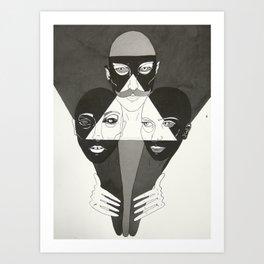 Outlandish Art Print