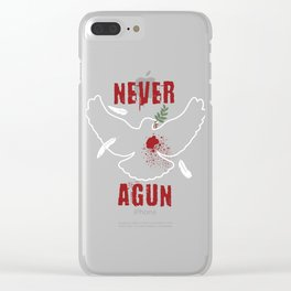 Never Agun Gift Clear iPhone Case