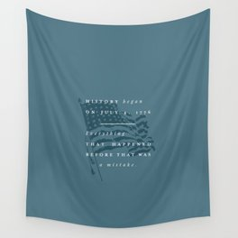 P + R History Wall Tapestry
