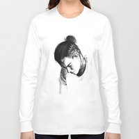 harry styles Long Sleeve T-shirts featuring Braids by Judit Mallol