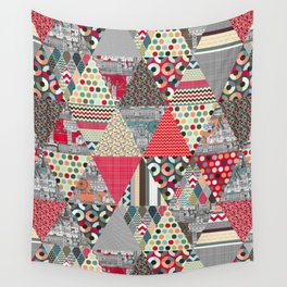 London triangle quilt Wall Tapestry