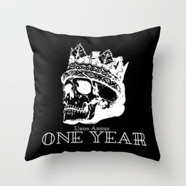 One Year - Unus Annus Throw Pillow