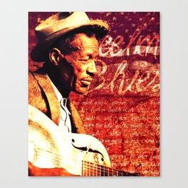Feelin' Blues Canvas Print