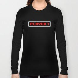 Player 1 Long Sleeve T-shirt