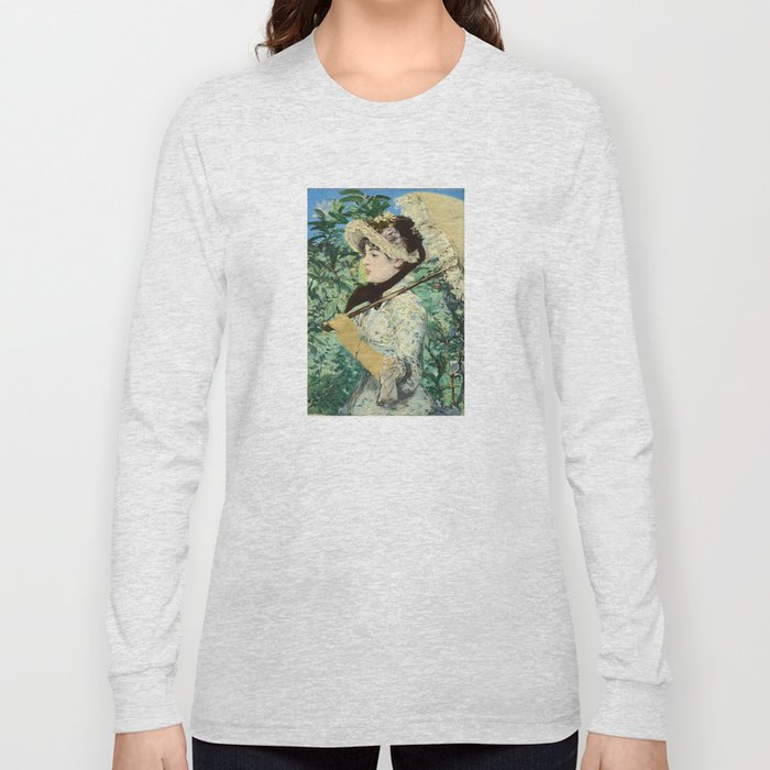 Manet's Jeanne Long Sleeve T-shirt