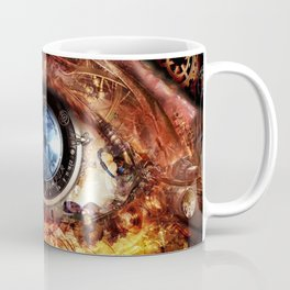 Steampunk camera's eye. Coffee Mug