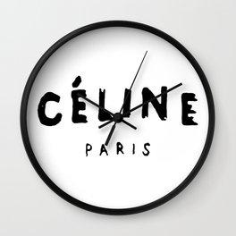 celinee paris Wall Clock