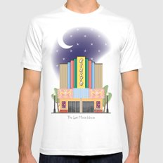 The Last Movie House Mens Fitted Tee White SMALL