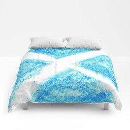 flag of scotland 7– scotland,scot,scottish,Glasgow,Edinburgh,Aberdeen,dundee,uk,cletic,celts,Gaelic Comforters