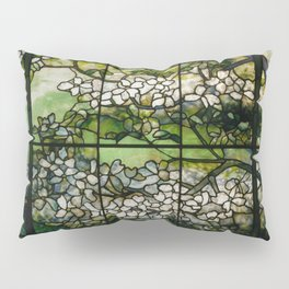 Louis Comfort Tiffany - Decorative stained glass 2. Pillow Sham