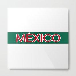 Mexico Metal Print