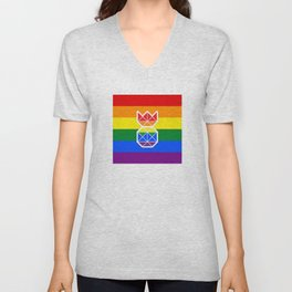 Pineapple & Pride Unisex V-Neck
