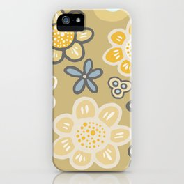 Big and Bold Modern Floral No. 3 iPhone Case