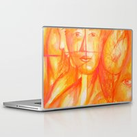 body Laptop & iPad Skins featuring Body by Ricardo Patino