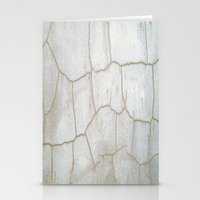cracked Stationery Cards featuring Cracked  by Ethna Gillespie