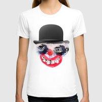 clown T-shirts featuring Clown by Ahmet Hacıoğlu