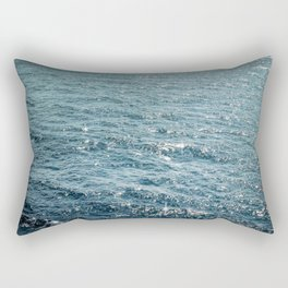 The Sparkle of the Sea Rectangular Pillow