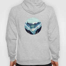 Blue Forest Lake Hoody