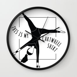 cartwheel Sports Wall Clock