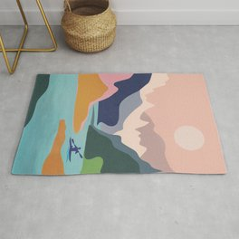 River Canyon Kayaking Rug