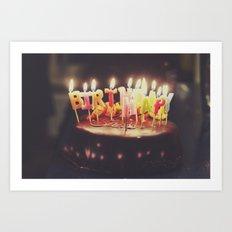 Happy Birthday! Art Print