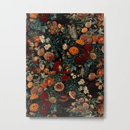 EXOTIC GARDEN - NIGHT XXI Metal Print