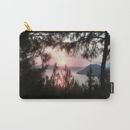 Solemn Sunset  Carry-All Pouch
