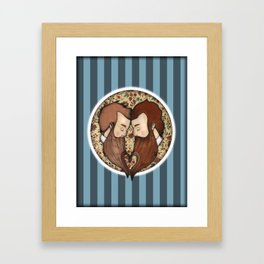 Beard Love Framed Art Print