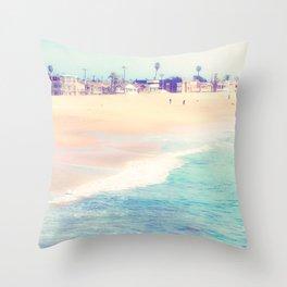 SealBeach Throw Pillow