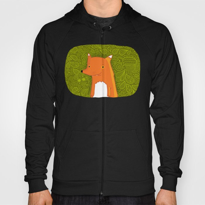 Cute cartoon fox Hoody