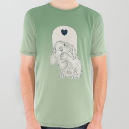 some Bunny loves you All Over Graphic Tee