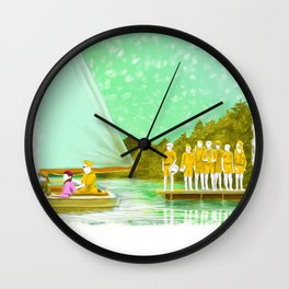 MOONRISE KINGDOM Painting Poster | PRINTS | #M46 Wall Clock