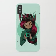 Christmas Party iPhone X Slim Case