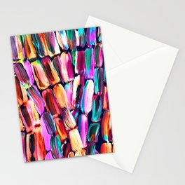 Neon Sugarcane Dark Stationery Cards