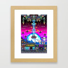 FINAL BOSS - Variant version Framed Art Print